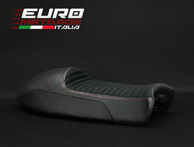 Moto Guzzi V7 Racer 2011-2018 Luimoto Suede Seat Cover New