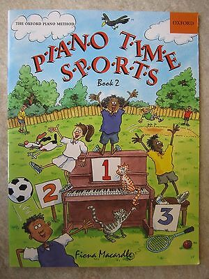 Piano Time Sports Book 2 from the Oxford Piano Method *NEW*