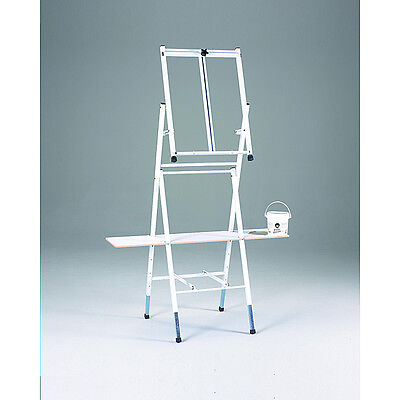 Bob Ross 2-in-1 Studio/ Table Top Metal Easel with Utility Shelf