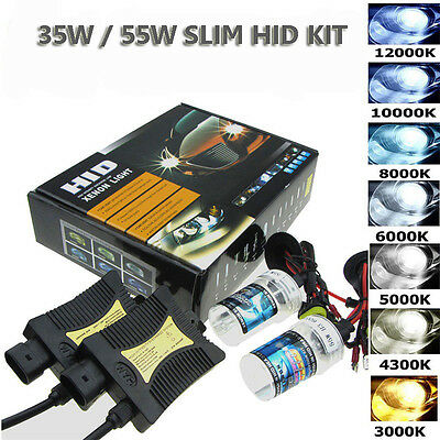55W Hid H1 H3 H7 H11 9005 9006 Xenon Light Bulb Ballast Conversion Kit Headlight
