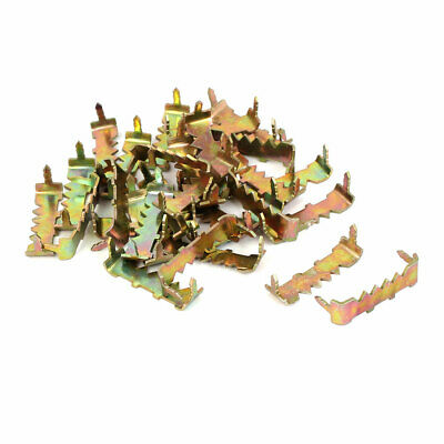25mm x 7mm x 9mm No Nail Picture Frame Hooks Saw Tooth Sawtooth Hangers 30PCS