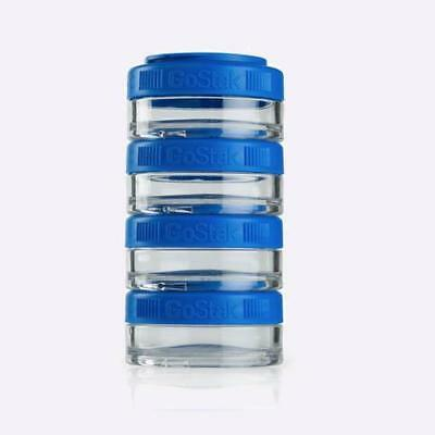 New Blender Bottle Go Stack 40cc 4 Pack Blue from The WOD Life