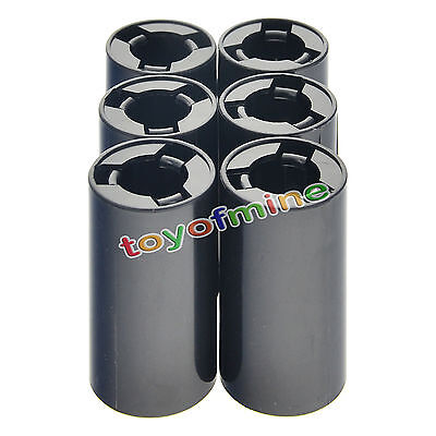 6 pc new battery Adaptor Converter Case box Holder for AA to C