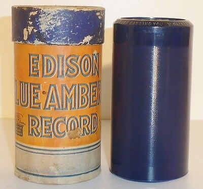 Edison Blue Amberol Record Wachswalze 3323 V. Dalhart - Joan of Arc, they are...