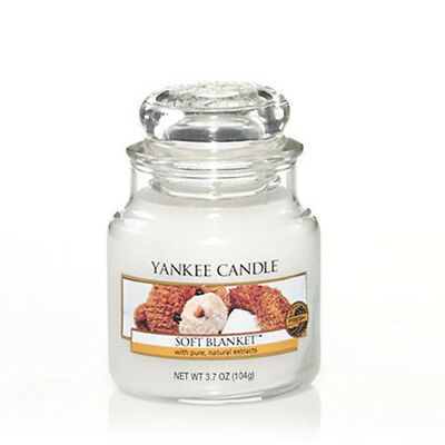 Yankee Candle Soft Blanket Small Jar Scented Candle
