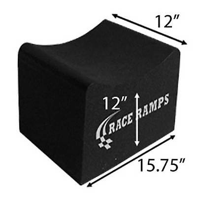 "Race Ramps Race/Rally Pair Of 15.75""x12""x12"" Composite Wheel Cribs - RR-WC-12"