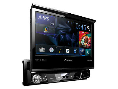 "Pioneer AVH-X7700BT Single Din 7"" Detachable Face DVD Receiver Builtin Bluetooth"