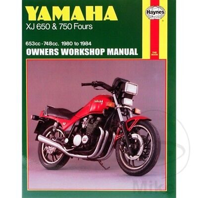 yamaha xj 750 seca 1982 1984 haynes service repair manual. Black Bedroom Furniture Sets. Home Design Ideas