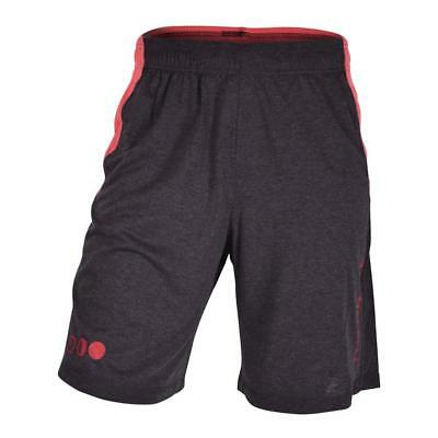 The Brave Men's Spectrum Shorts - Black & Red The WOD Life Crossfit