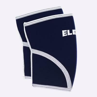 New Eleiko 7mm Knee Sleeves- PAIR - Blue from The WOD Life