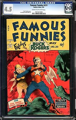 Famous Funnies #211 CGC 4.5