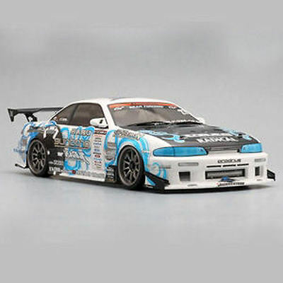 Yokomo 1093 Speed S14 Silvia Body Set (No Accessories) - Unpainted - SD-1093B