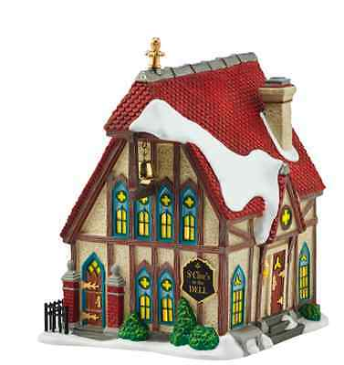 Dept 56 Christmas Dickens Village St Clives In The Dell Church New 2016 4054963