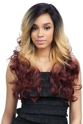 Freetress Equal Synthetic Premium Delux Lace Front Wig Long Wavy - Corin