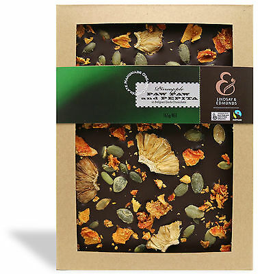 Tropical Fruits - Dark Belgian Fair Trade Organic Chocolate - Australian Made