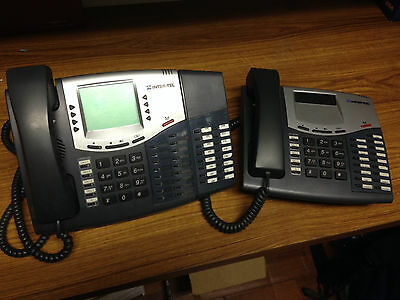 Inter-tel 550.8560 Display Phone with DSS 550.8416, and 550.8520 Phone