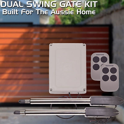 AOSWv2 Actuator Automatic Motor Remote Dual Swing Gate Opener Active Suit 300KG