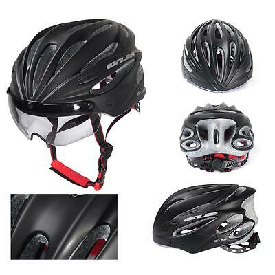 Adjustable Cycling Bicycle Adult Safety Road Bike Protective Helmet With Visor