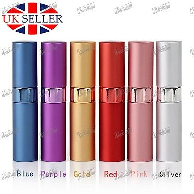 Perfume Aftershave Atomizer Atomiser Bottle 15ml Pump Travel Refillable Spray UK