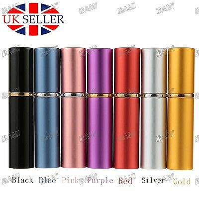 10ml Perfume Aftershave Atomizer Atomiser Bottle Pump Travel Refillable Spray UK