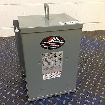 Square D 3 kVA Dry Type Transformer 3S1F Used #79250