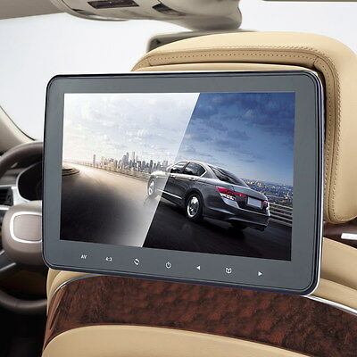 "10.1"" HD Digitl LCD 1080P Car Headrest Monitor SD MP5 MP3 Player Video Radio TV"