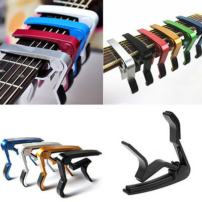 Trigger Quick Release Guitar Capo Clamp for Electric Acoustic Classic Guitar New