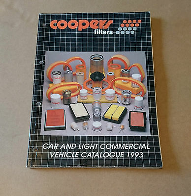 Coopers Filters Parts Catalogue 1993