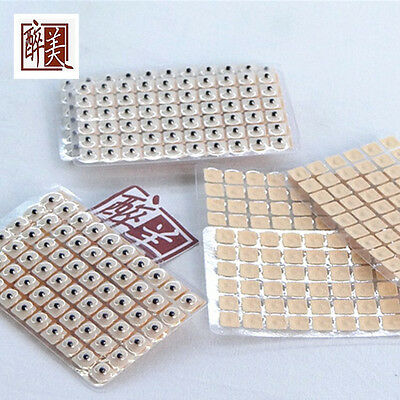600pcs Magnetic therapy ear patch Auriculotherapy Acupuncture Seeds paste Top