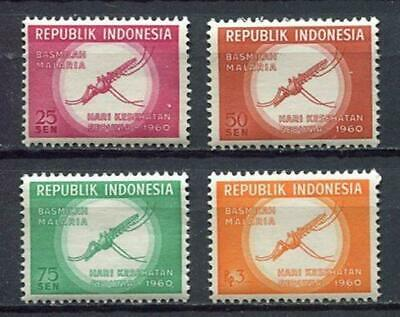 38160) INDONESIA 1960 MNH** World health day 4v