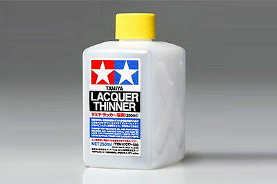 Tamiya Tools - Lacquer Paint Thinner 250ml