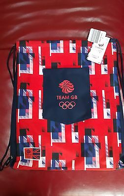 Official Team Gb Rio 2016 Gym Sack Bnwt Last Few Sold Out In Shops