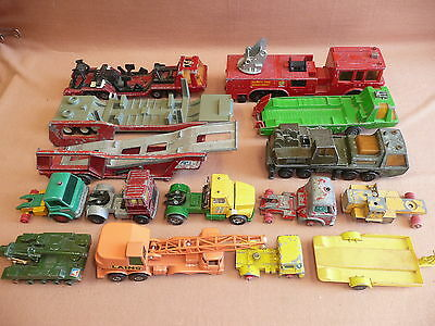 Matchbox Lesney Scrapyard King Size Repairs/Spares Lot 2.5 kilo England Super K