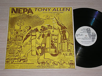 "TONY ALLEN with AFROBEAT 2000 - N.E.P.A. - MAXI-SINGLE 12"" UK"