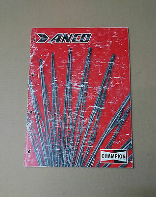 Champion Anco Wiper Blades And Arms Catalogue 1984