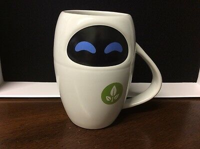 Eve from Wall-E Mug Disney Pixar New