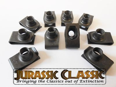 1946-1980 Chevy 53Pc Assortment Extruded U-Nuts Clips Kit Hood Body Panel Fender