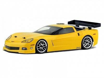 HPI Chevrolet Corvette C6 200mm Body - Unpainted - Sprint 2 Sport