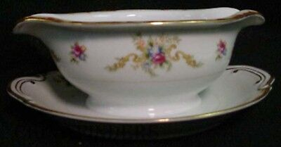 HARMONY HOUSE Sears china WEMBLEY pattern Gravy Boat