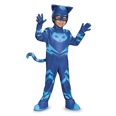 PJ Masks Catboy Deluxe Toddler Child Glow In the Dark Costume | Disguise 17159