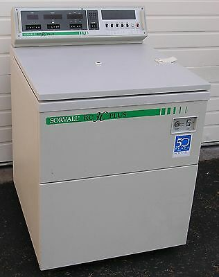 Sorvall Model Rc-3C Plus Refrigerated Centrifuge W/ H6000 Rotor - Reconditioned
