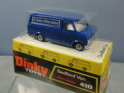 "DINKY TOYS MODEL No.410 BEDFORD CF VAN  ""JOHN MENZIES"" RARE PROMOTIONAL  MIB"