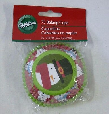 Wilton 75 ct Christmas Standard Baking Cups #415-1579