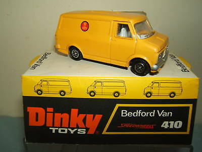 "DINKY TOYS MODEL No.410 BEDFORD CF ""DANISH POST"" PROMOTIONAL  VAN     VN MIB"