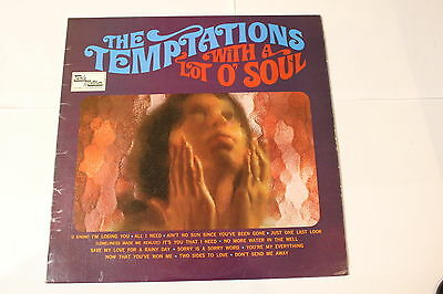 With A Lot O Soul [Vinyl Lp The Temptations