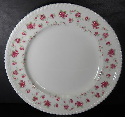 JOHNSON BROTHERS England china RAMBLER ROSE pattern Dinner Plate @ 10""