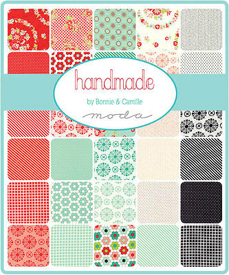 Patchwork/quilting Fabric Moda Charm Squares/packs - Handmade