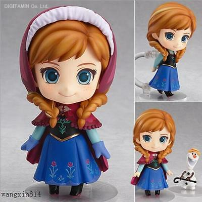 New Nendoroid Anna And Snow Queen Anna ABS & Pvc Action Figure 550#