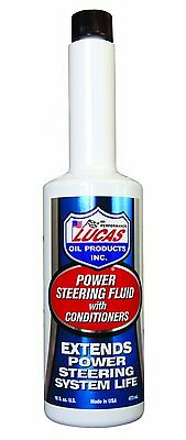 Lucas Oil 10442 Power Steering Fluid with Conditioners -16 oz.,Stops fading[AOI]