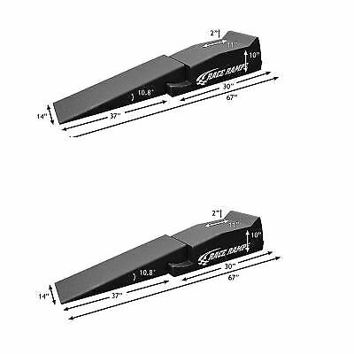 "2 x Race Ramps Weatherproof Vehicle Service Ramps 67"" Race Ramps XT 2 Piece"